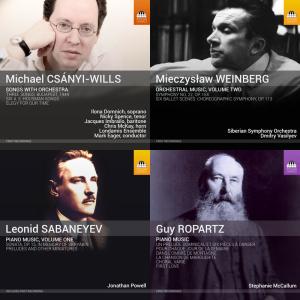 December 2015 Toccata Classics Releases
