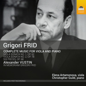 Grigori Frid: Complete Music for Viola and Piano