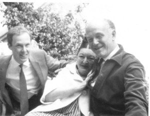 Anthony Phillips, Richter, and Dagmar Godowsky in Hollywood