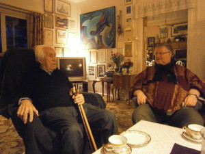 Coffee at the Solbergs | Martin Anderson and Leif Solberg
