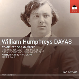 William Humphreys DAYAS: Complete Organ Music