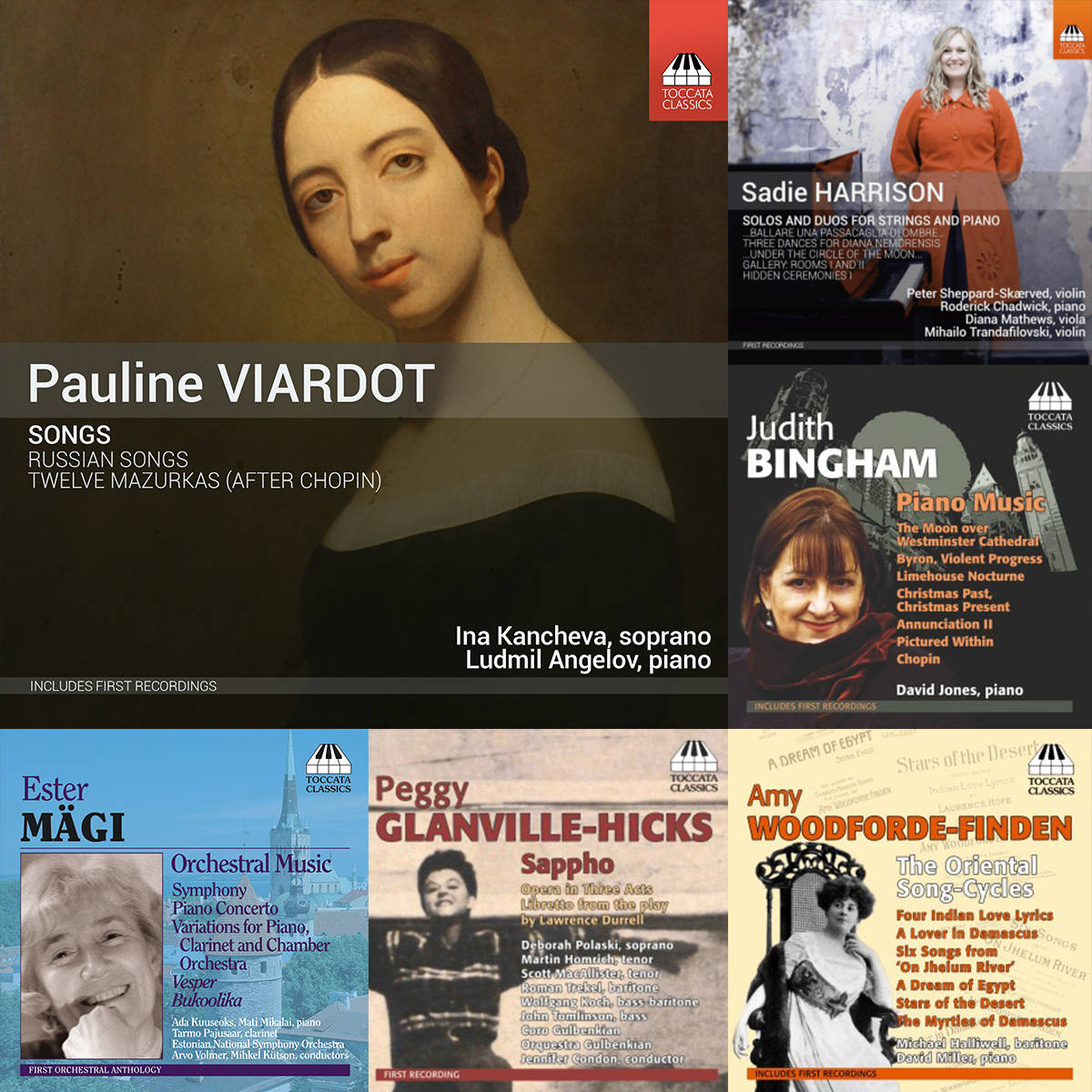 Women Composers Bundle