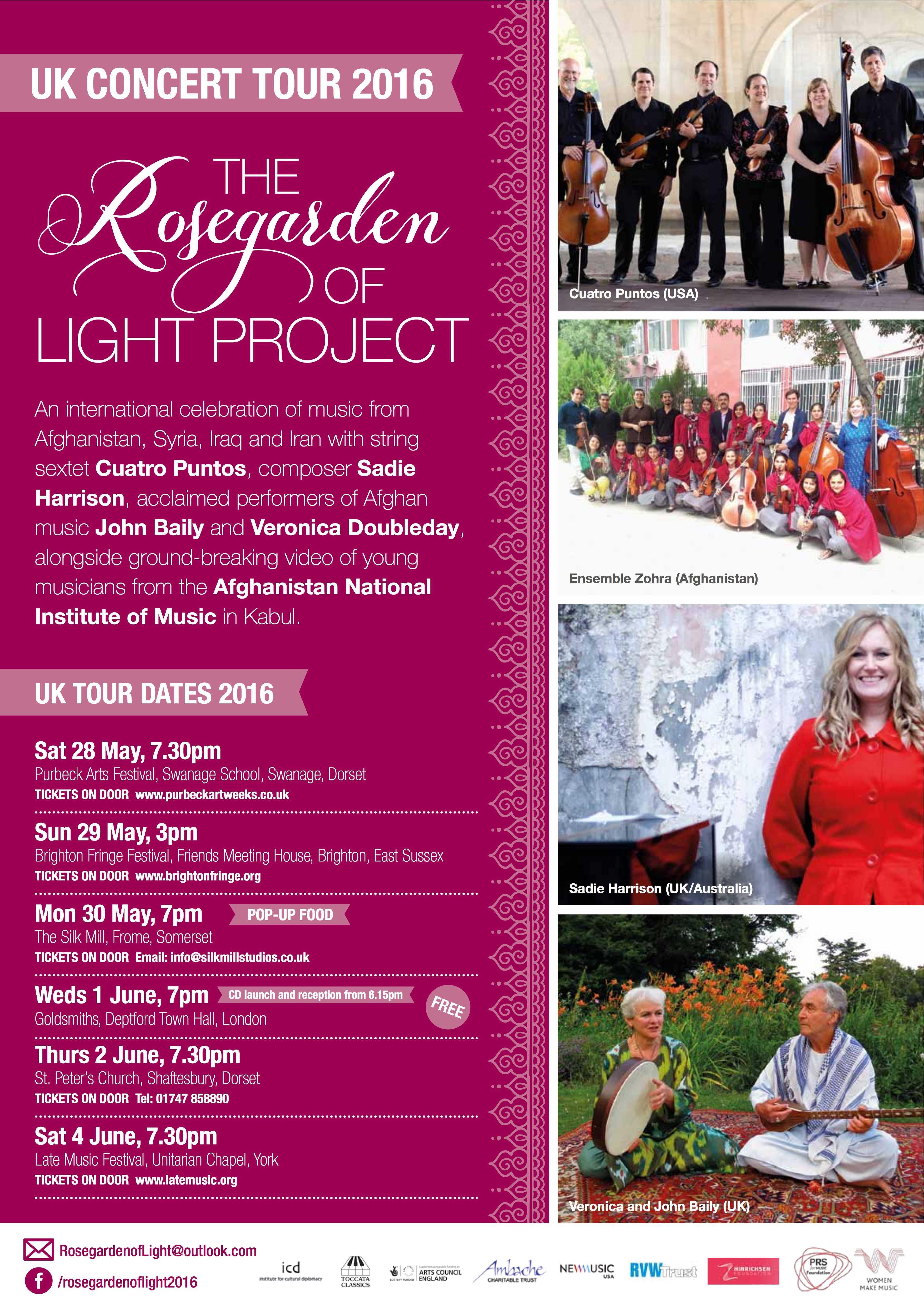Rosegarden of Light Poster