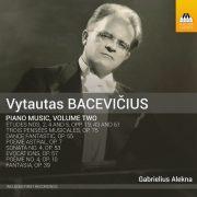 VYTAUTAS BACEVIČIUS Piano Music, Volume Two