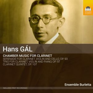 Hans Gál: Chamber Music for Clarinet