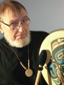 Tormis with drum (Triinu Ojamaa)