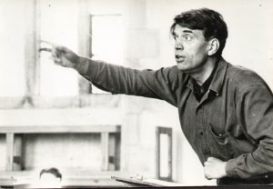 John Gardner conducting in his thirties