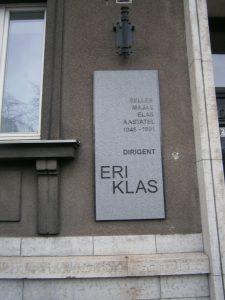 Eri Klas Plaque