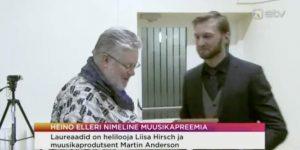 Martin Anderson Receives Heino Eller Award