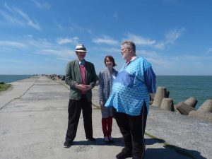 Liepāja breakwater with Martin Anderson