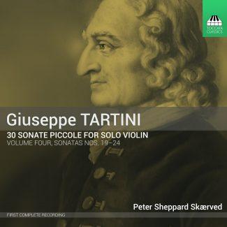 Giuseppe Tartini: 30 Sonata piccole, Volume Four – Sonatas Nos. 19-24