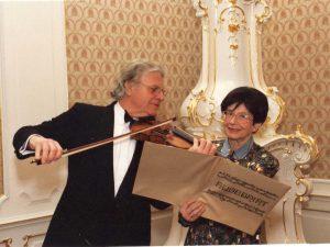 Zuzana Růžičková With Josef Suk