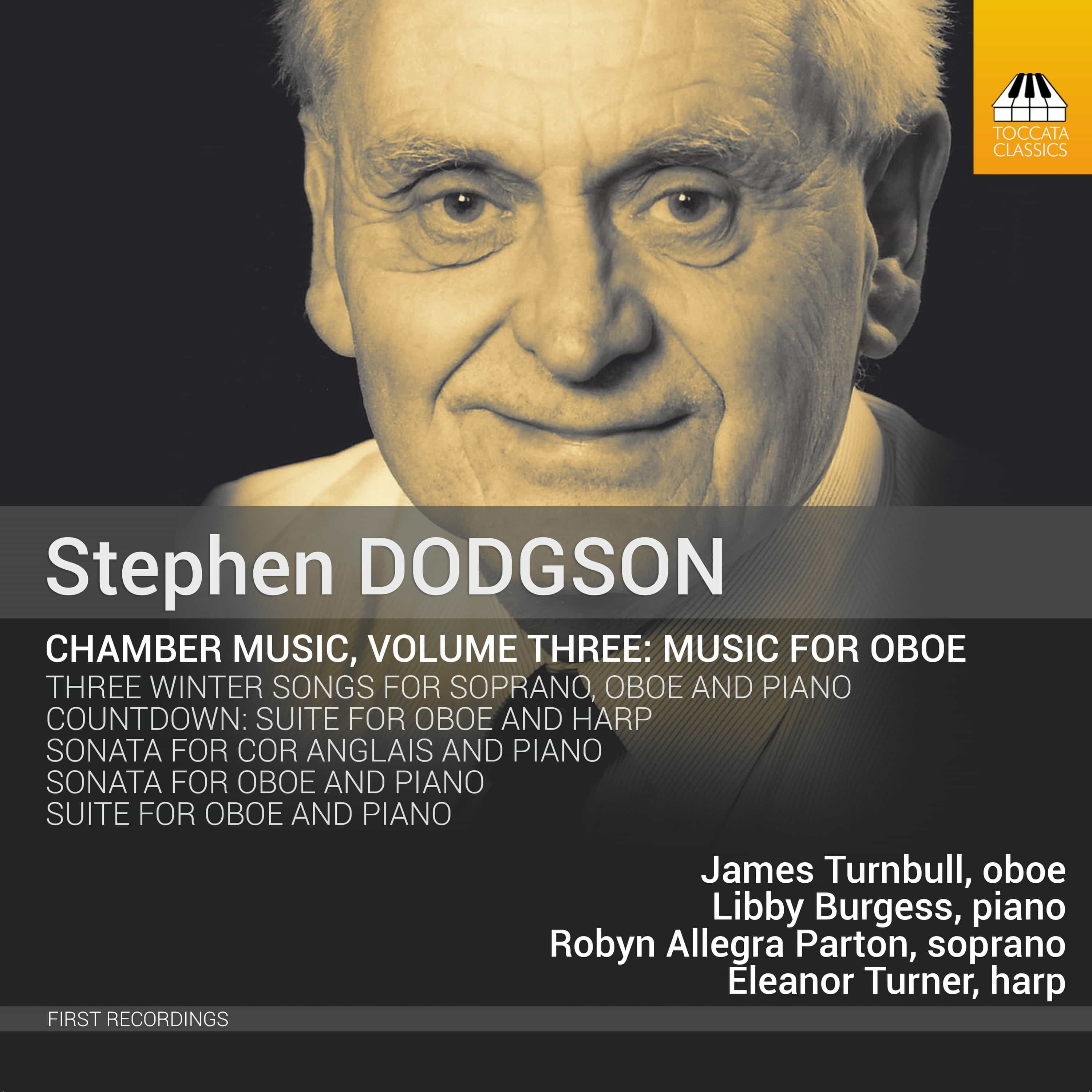 Stephen Dodgson: Chamber Music, Volume Three: Music for Oboe