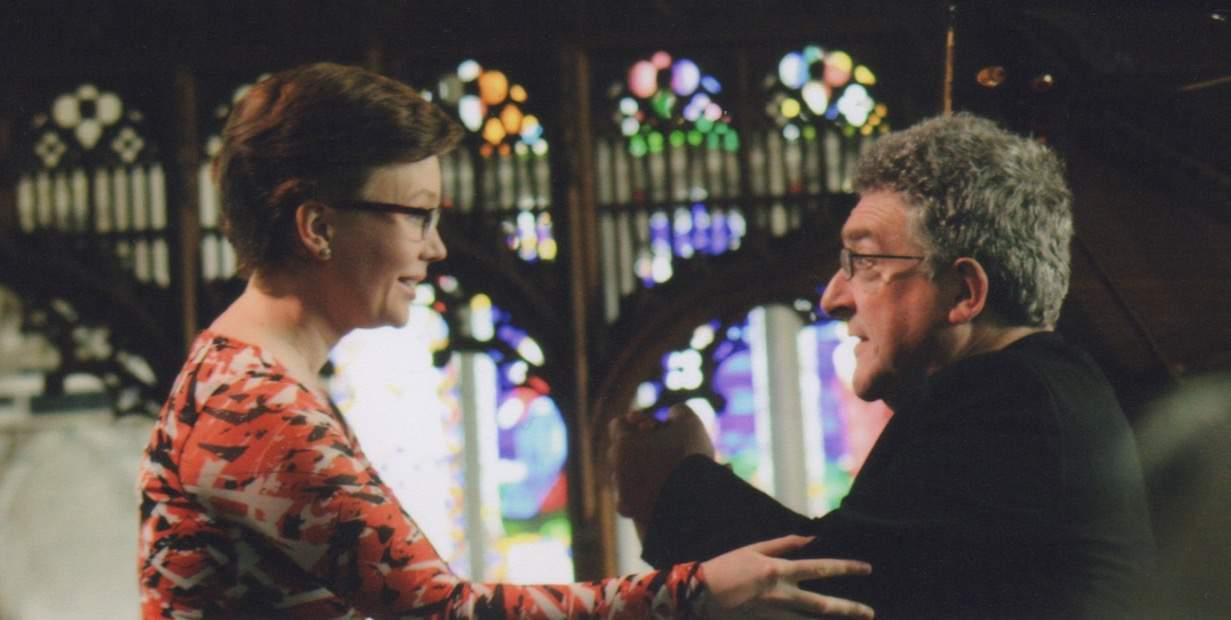 Robert Saxton and Clare Hammond