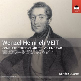 Wenzel Heinrich Veit: Complete String Quartets, Volume Two