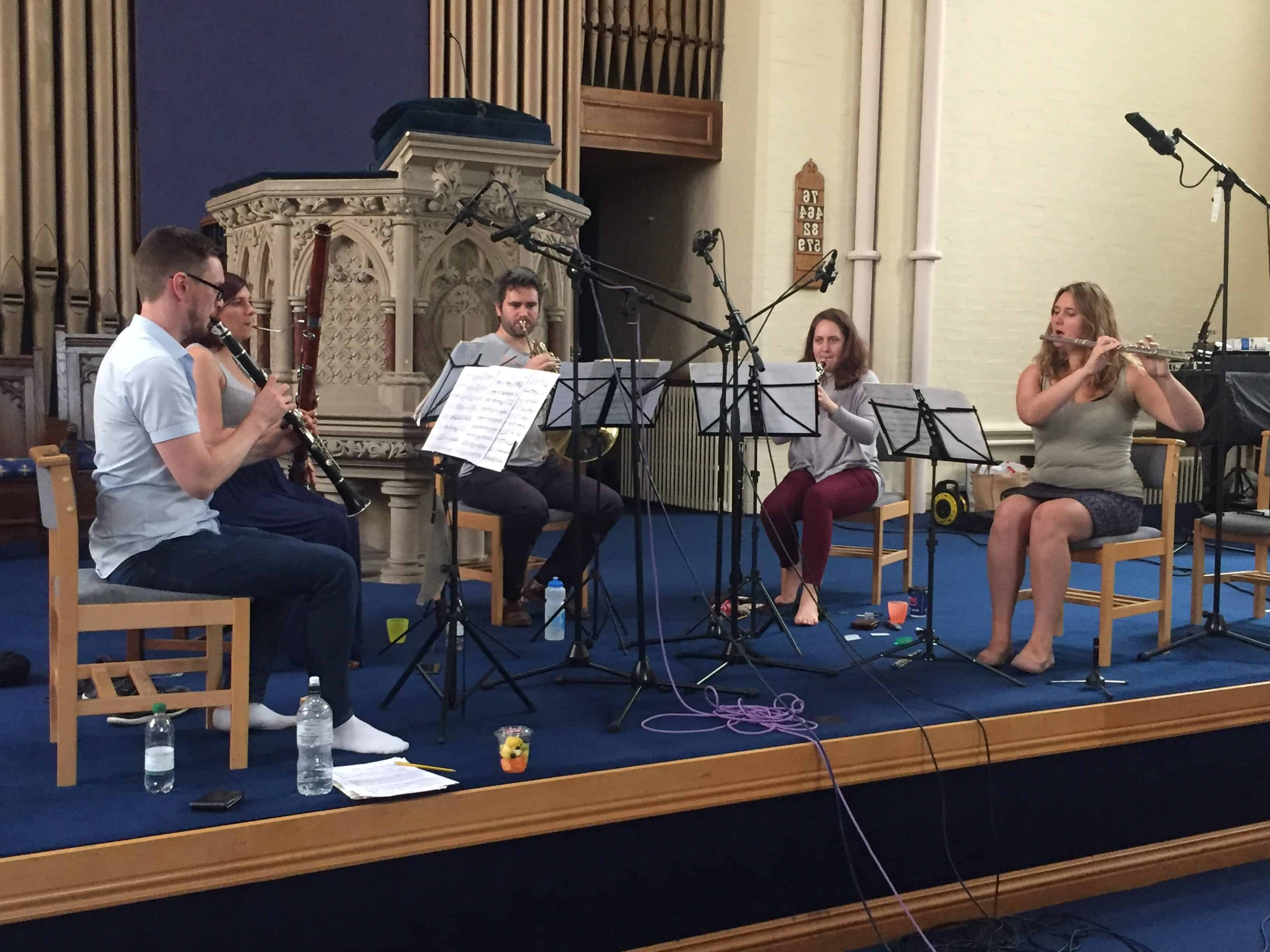Waldegrave Ensemble Recording Sessions