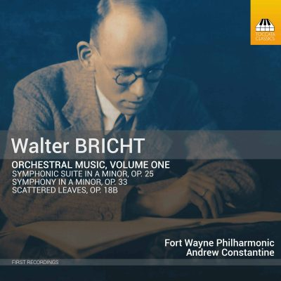 Walter Bricht: Orchestral Music, Volume One