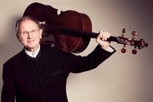 Photo of Alexander Ivashkin with Cello