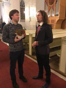 Pärt Uusberg with Endrik Üksvärav