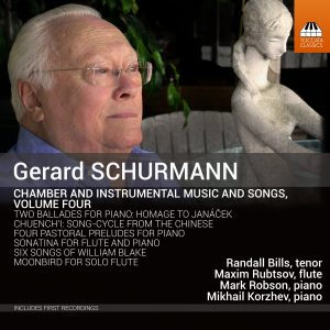 Gerard Schurmann: Chamber and Instrumental Music, Vol. 4 Cover