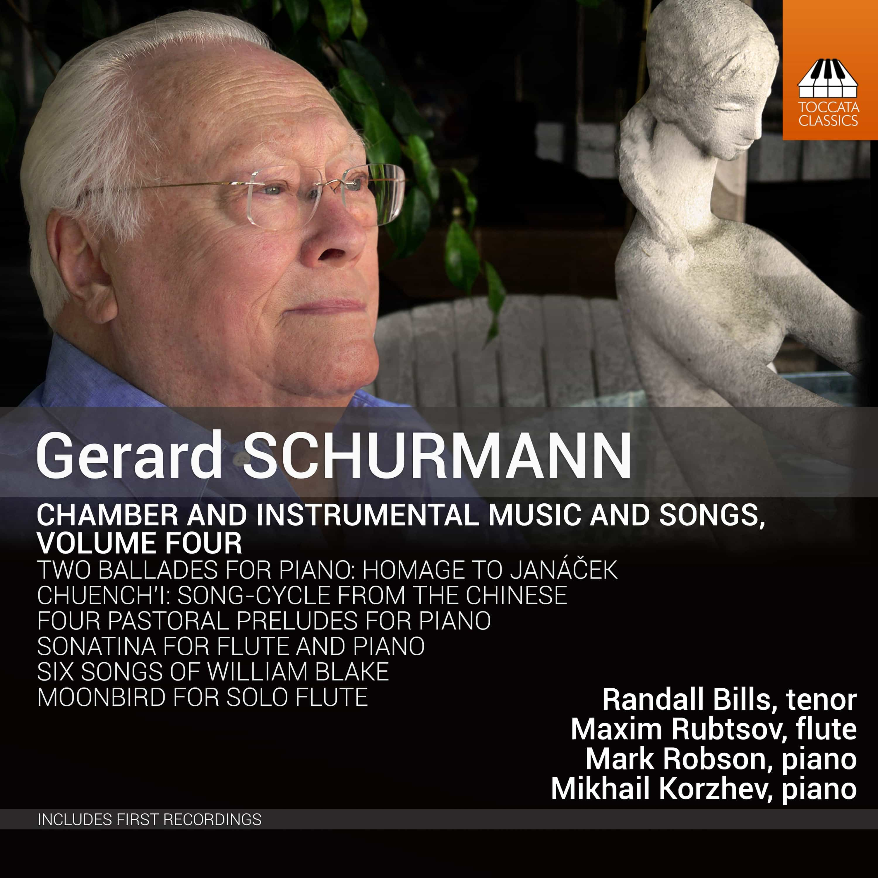 Gerard Schurmann: Chamber and Instrumental Music and Songs, Volume Four