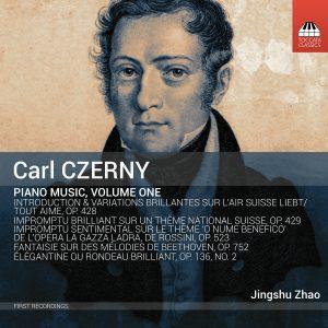Carl Czerny: Piano Music, Volume One Cover
