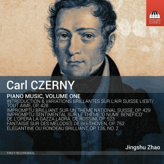 Carl Czerny: Piano Music, Volume One Cover
