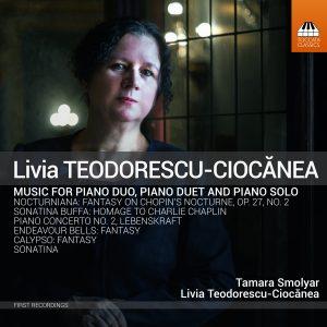 Livia Teodorescu-Ciocănea: Piano Music Cover