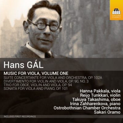 HANS GÁL Music for Viola, Volume One