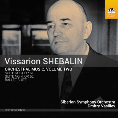 Vissarion SHEBALIN: Orchestral Music, Volume Two