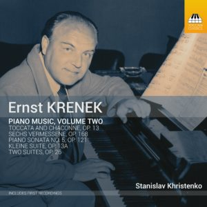 Ernst KRENEK: Piano Music, Volume Two