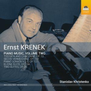 Ernst KRENEK: Piano Music, Volume Two