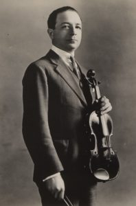 Paweł Kochański in 1921