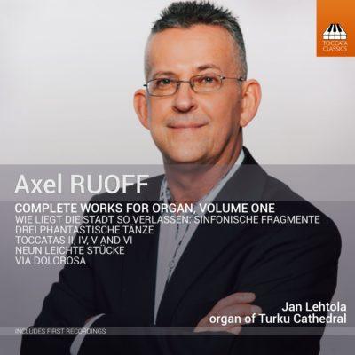Ruoff organ music Vol. 1 cover
