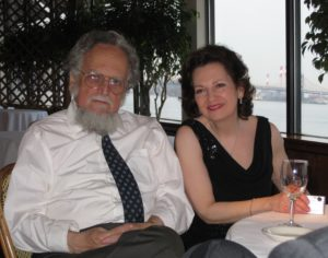 Arnold Rosner with his sister, Irene Rosner David