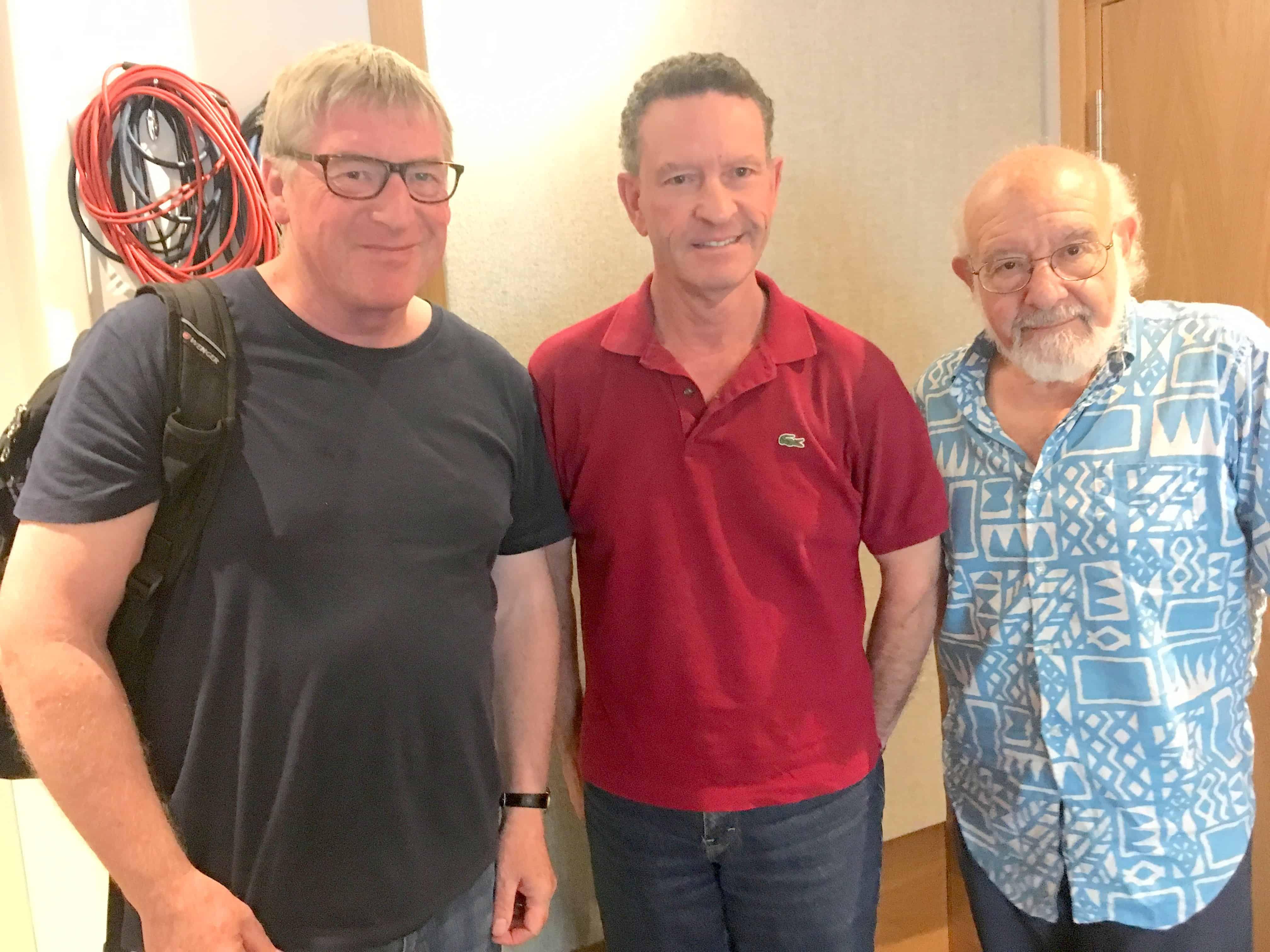 David Temple, Nick Palmer and Walter Simmons